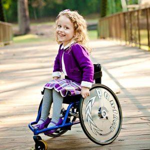 Çocuk Tekerlekli Sandalyesi Panthera Micro 1