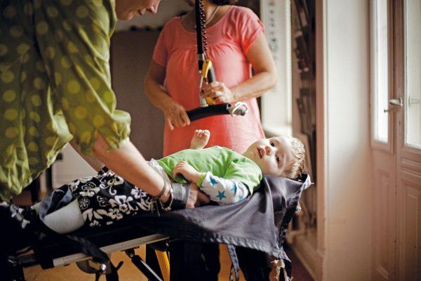 Caribou Engelli Çocuk Ayakta Durma Cihazı 3