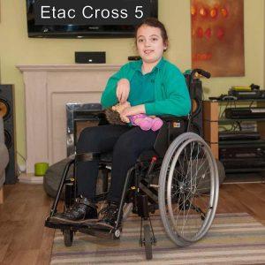 Etac Cross 5 Cocuk Tekerlekli Sandalyesi 1